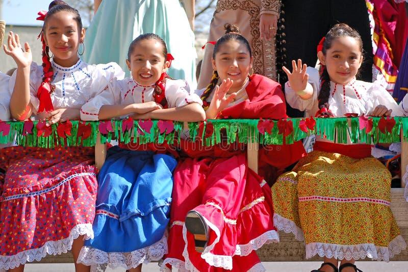 De Parade van Cinco DE Mayo royalty-vrije stock fotografie