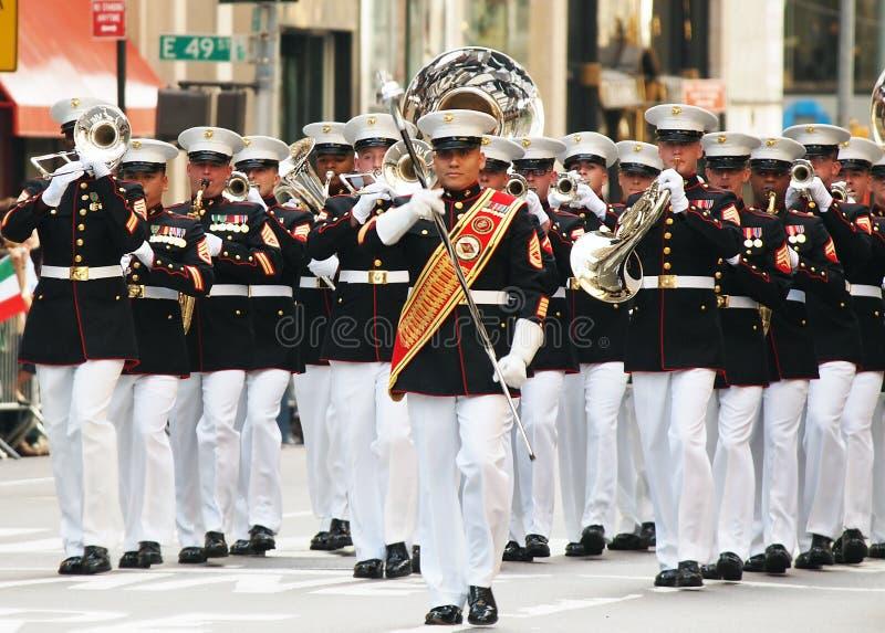 De Parade van de Dag van Columbus royalty-vrije stock foto's
