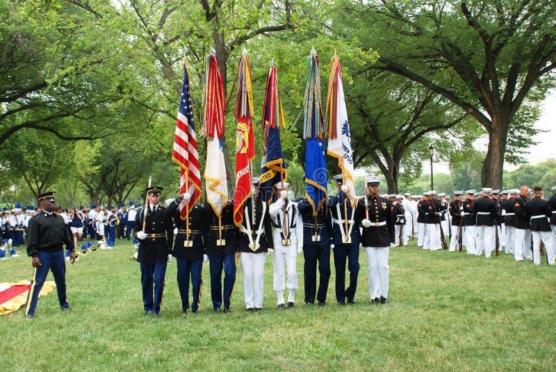 De parade van de Dag van de Onafhankelijkheid van Americaâs 2008. royalty-vrije stock afbeelding