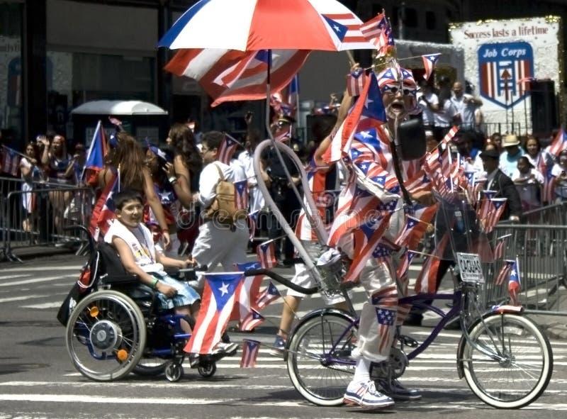 De Parade van de Dag van het Puerto Ricaan; NYC 2012 stock afbeeldingen