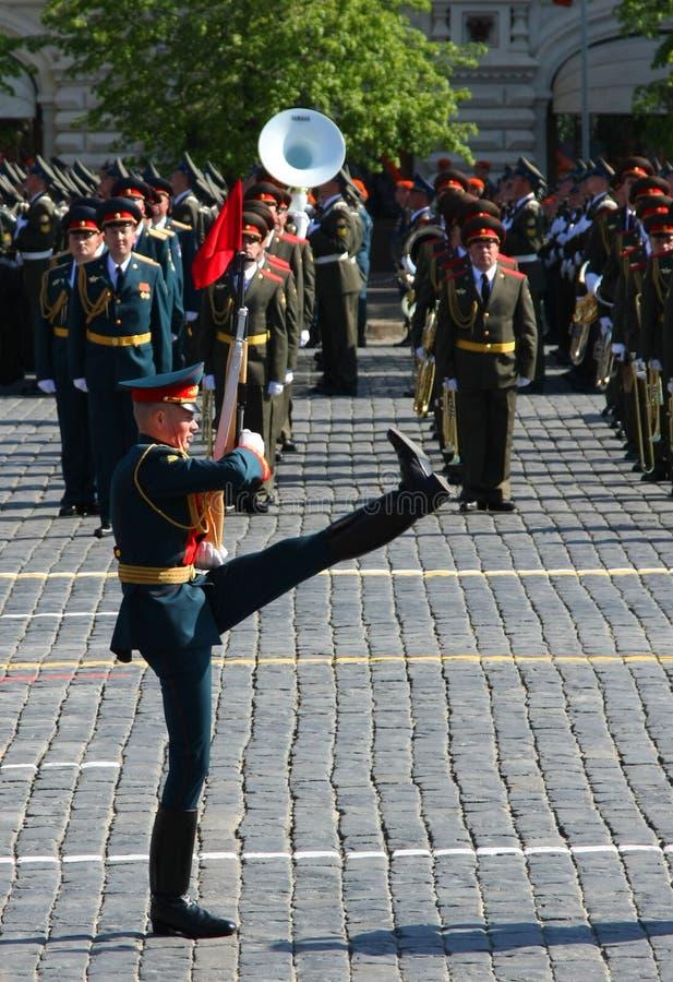 De parade van de overwinning stock fotografie