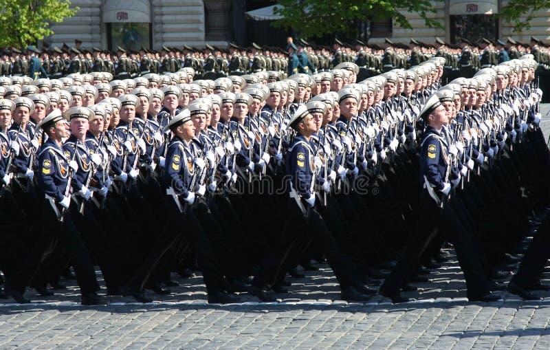 De parade van de overwinning royalty-vrije stock afbeeldingen