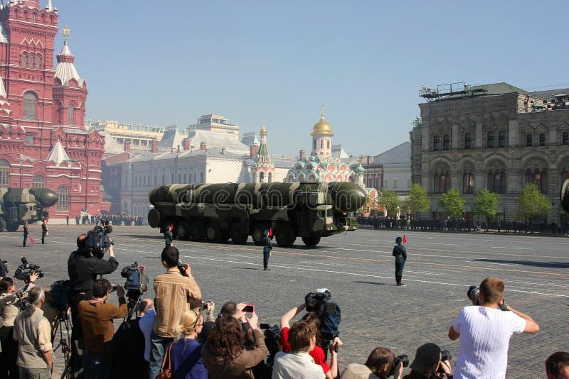 De parade van de overwinning royalty-vrije stock afbeelding