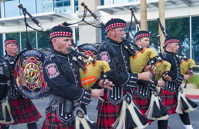De parade van Helldoradodagen royalty-vrije stock fotografie
