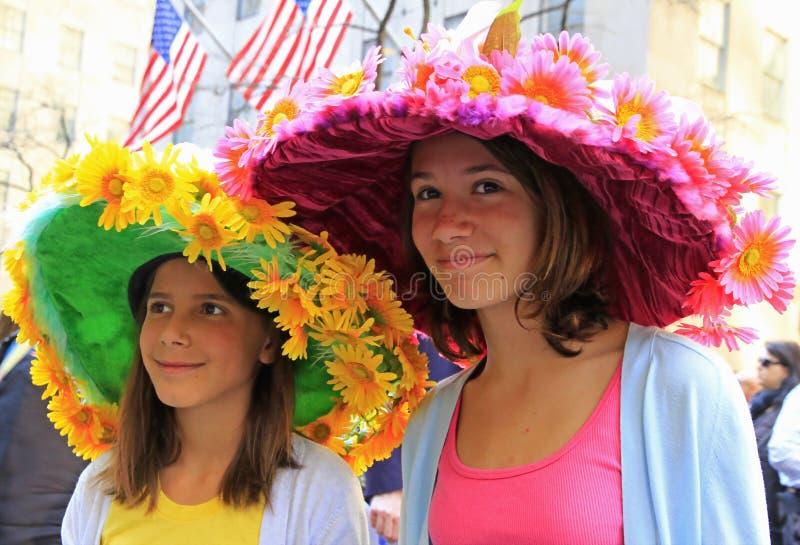 De Parade van Pasen van de Stad van New York stock foto