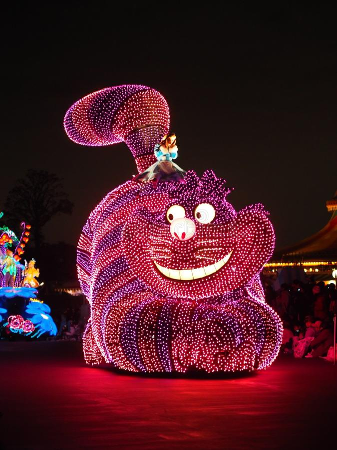 De parade van Tokyo DisneyLand royalty-vrije stock foto's