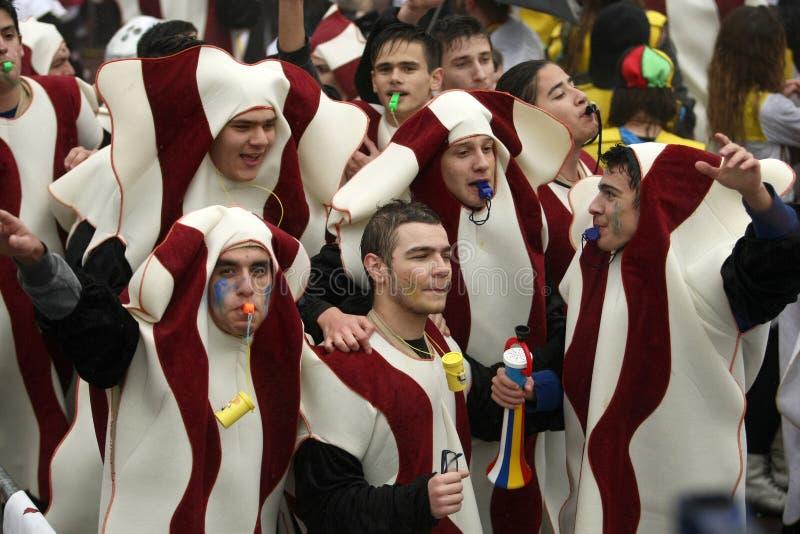 De Parade van Xanthi Carnaval stock fotografie