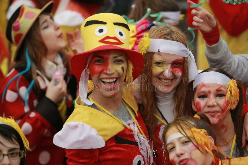 De Parade van Xanthi Carnaval royalty-vrije stock afbeeldingen