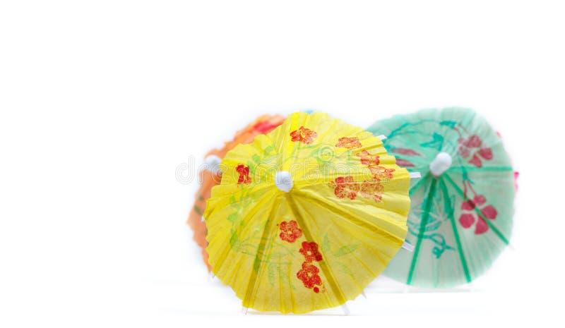 De Paraplu's van de cocktail royalty-vrije stock foto