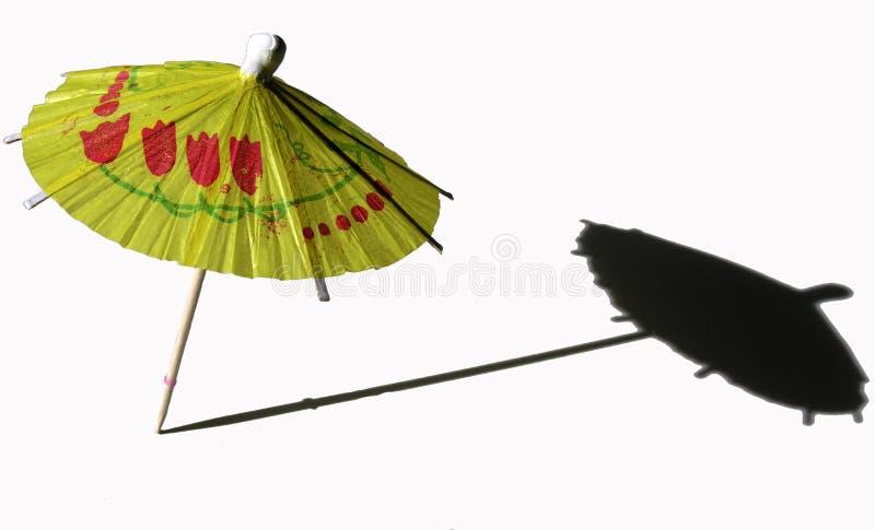 De paraplu van de cocktail stock afbeeldingen
