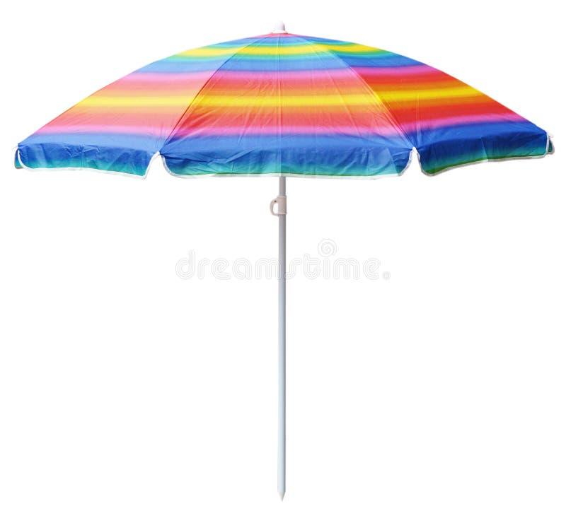De paraplu van het strand royalty-vrije stock afbeeldingen