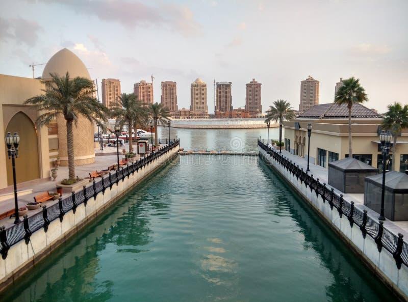 De parel van Qatar royalty-vrije stock foto