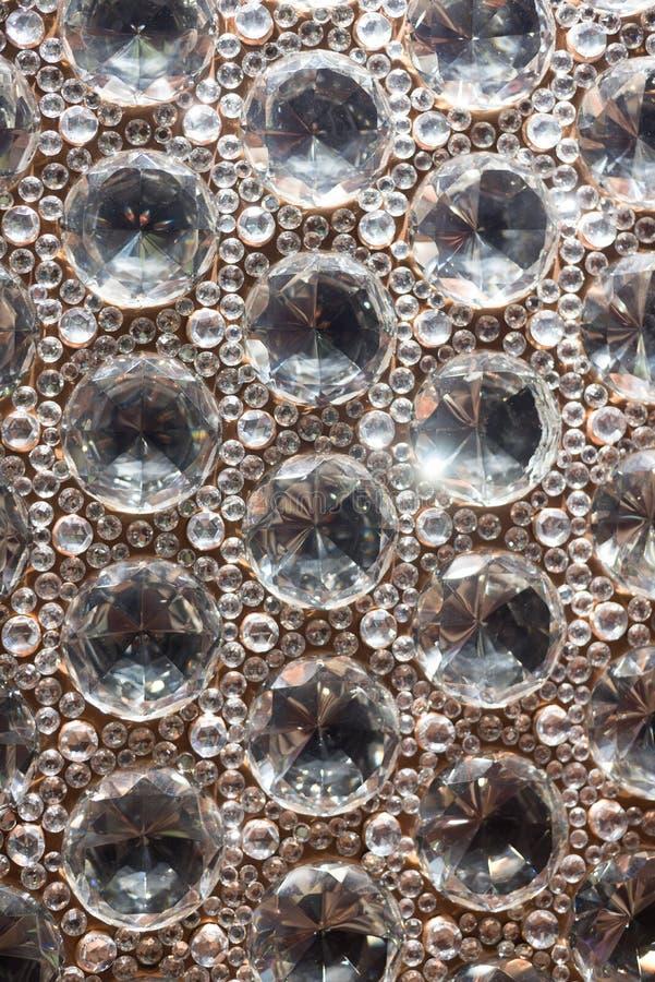 De Parels van het besnoeiingsglas stock foto