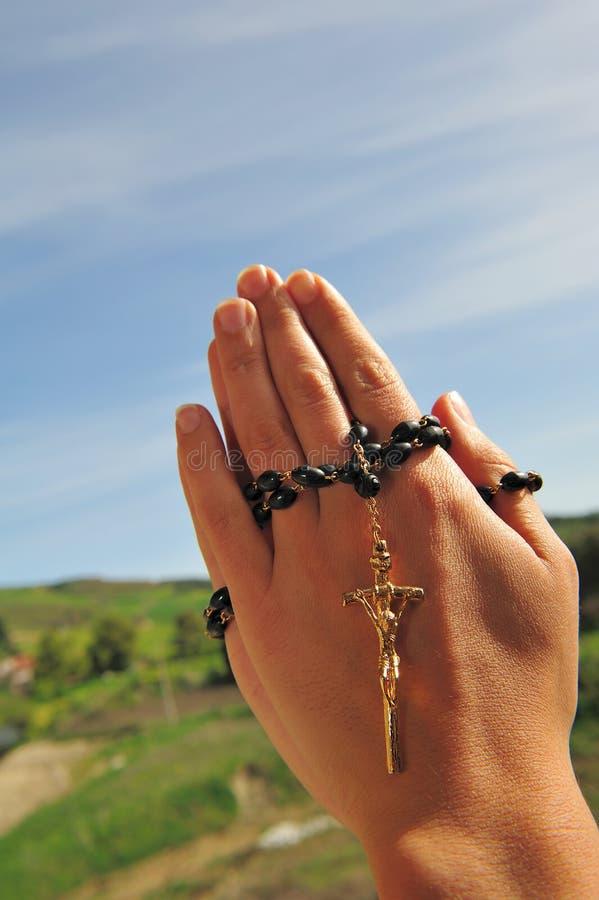 De parels van het gebed stock foto's