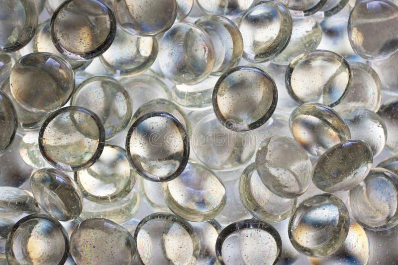 De parels van het glas stock afbeeldingen