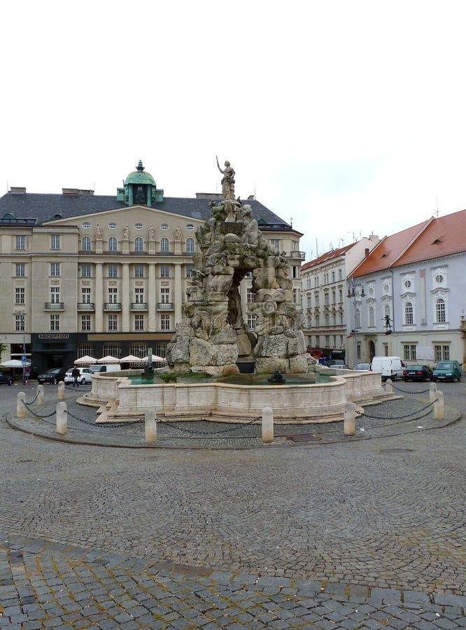 De Parnas-fontein stock fotografie
