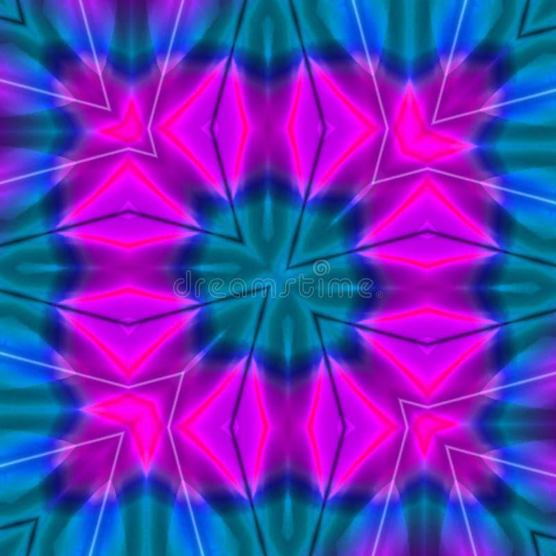 De partij kleurt digitaal art. stock illustratie