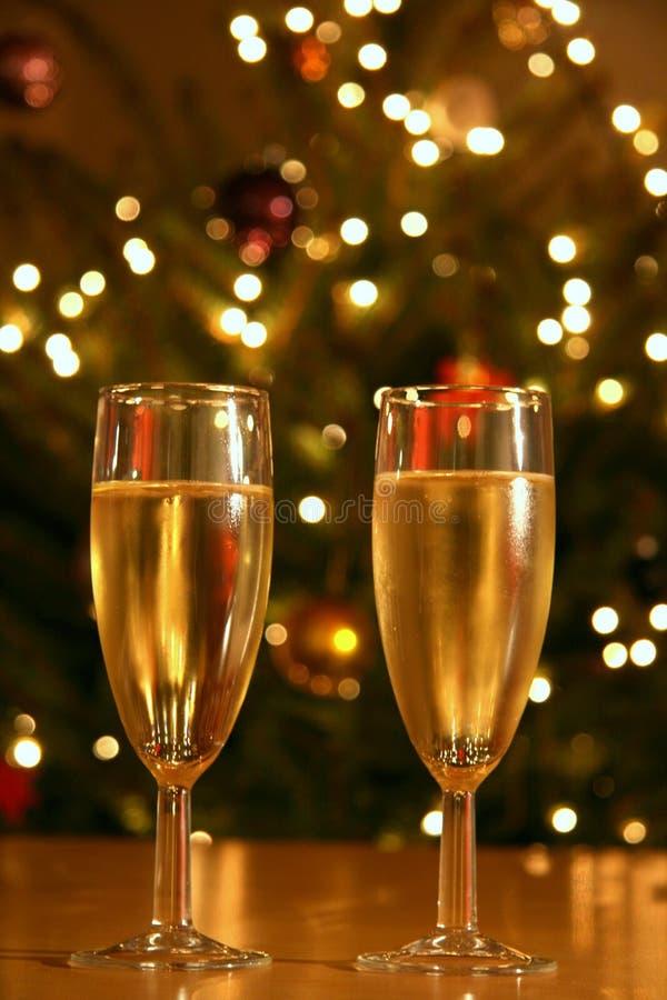 De partij van Champagne stock foto