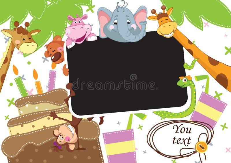 De partij van de baby vector illustratie