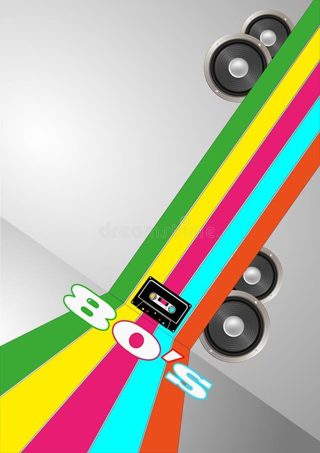 De partij van de bandcassette vector illustratie