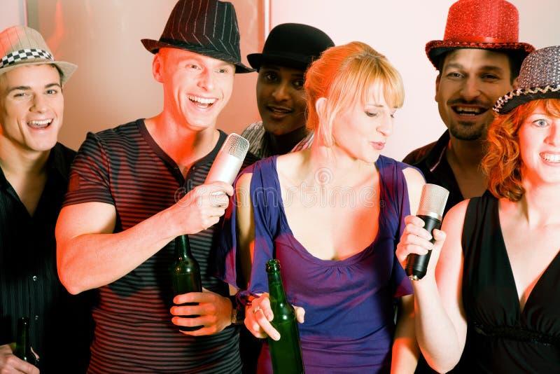 De Partij van de karaoke royalty-vrije stock fotografie