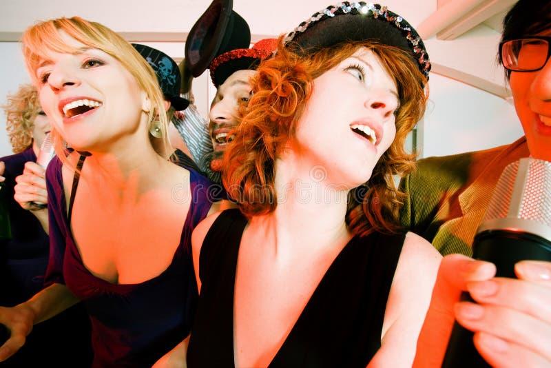 De Partij van de karaoke royalty-vrije stock foto