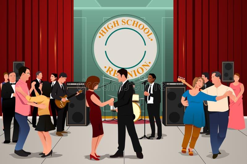 De Partij van de schoolbijeenkomst royalty-vrije illustratie