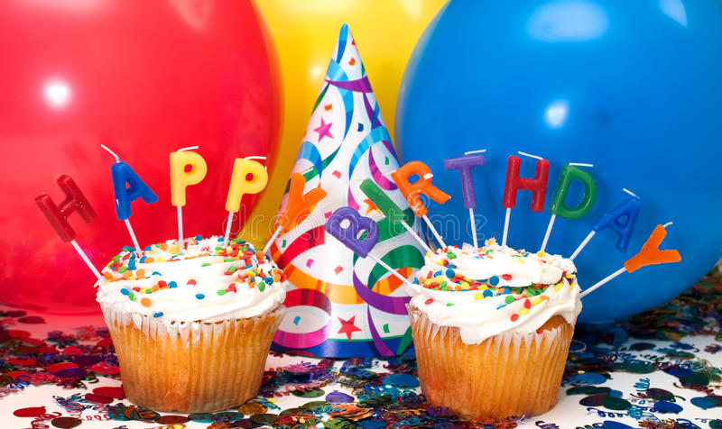 De Partij van de verjaardag royalty-vrije stock fotografie