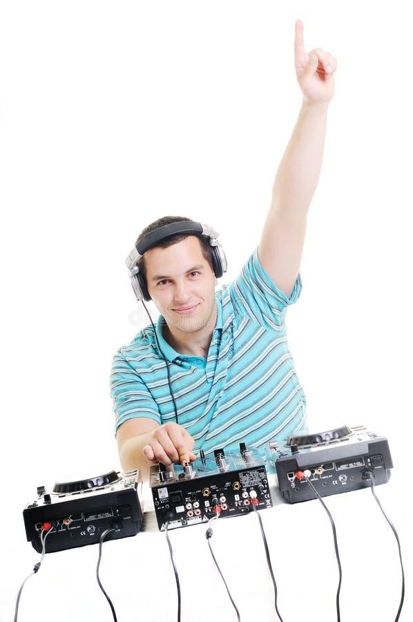 De partij van DJ royalty-vrije stock afbeelding