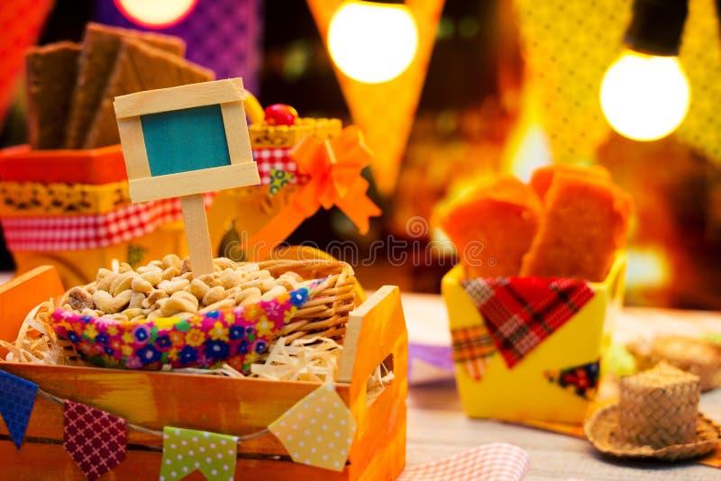 De Partij van Festajunina stock afbeelding
