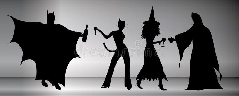 De Partij van Halloween stock illustratie
