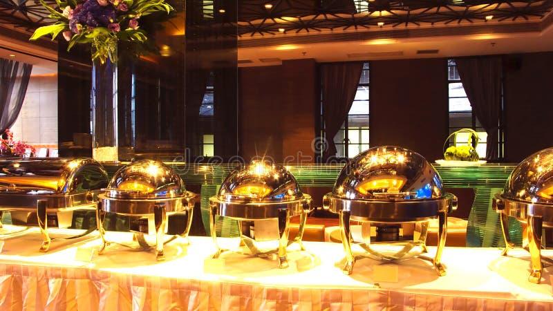 De partij van het buffet royalty-vrije stock afbeelding