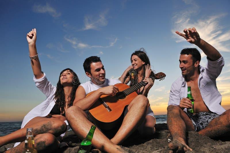 De partij van het strand royalty-vrije stock foto