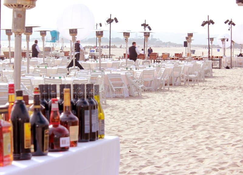 De Partij van het strand royalty-vrije stock afbeeldingen