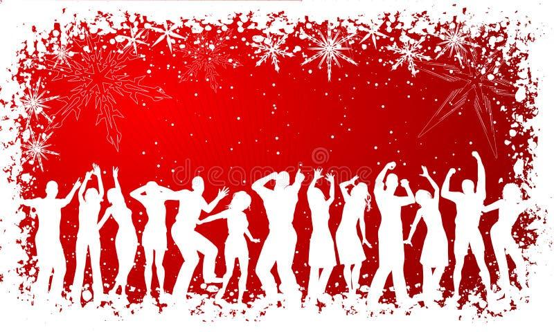 De partij van Kerstmis vector illustratie