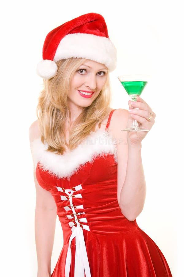 De Partij van Kerstmis stock foto