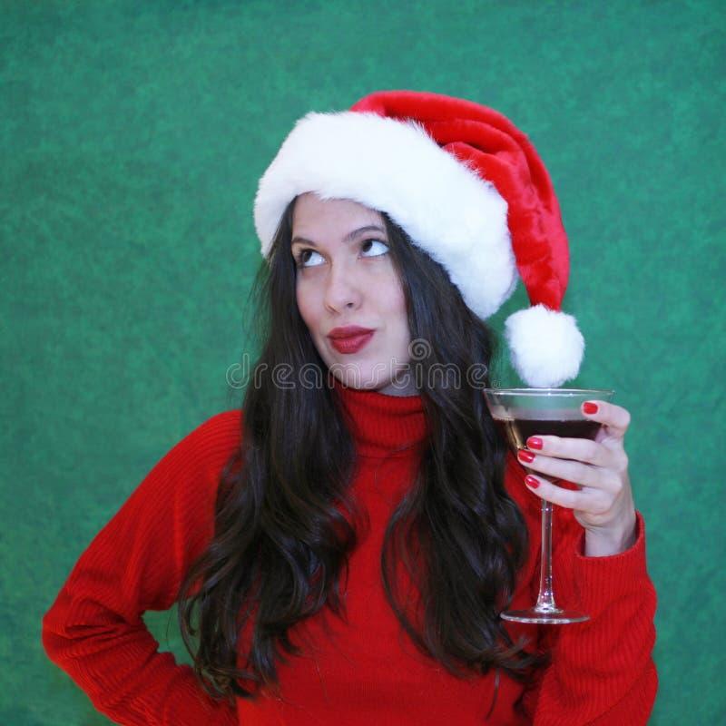 De partij van Kerstmis stock afbeeldingen