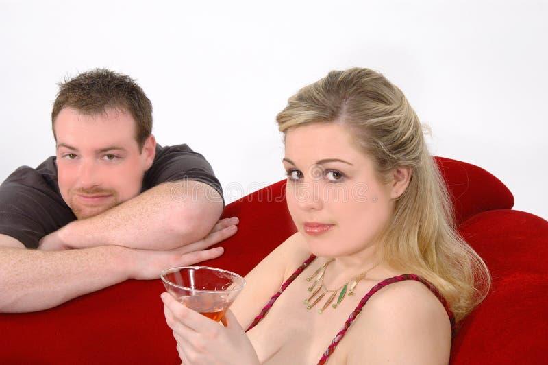 De Partij van martini stock foto's