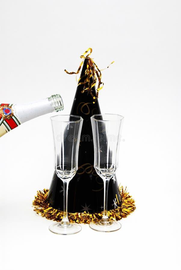 Nieuwjarenpartij royalty-vrije stock foto