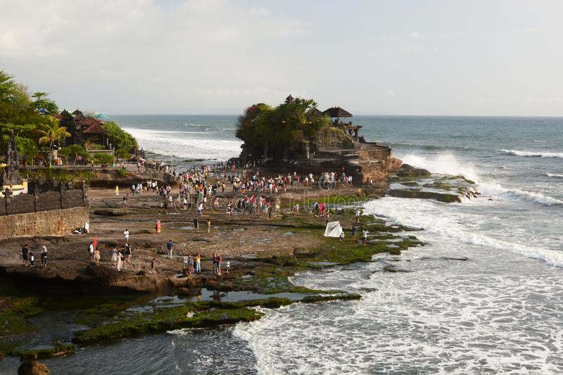 De Partij van Tanah van Pura Tabanan bali indonesië stock fotografie