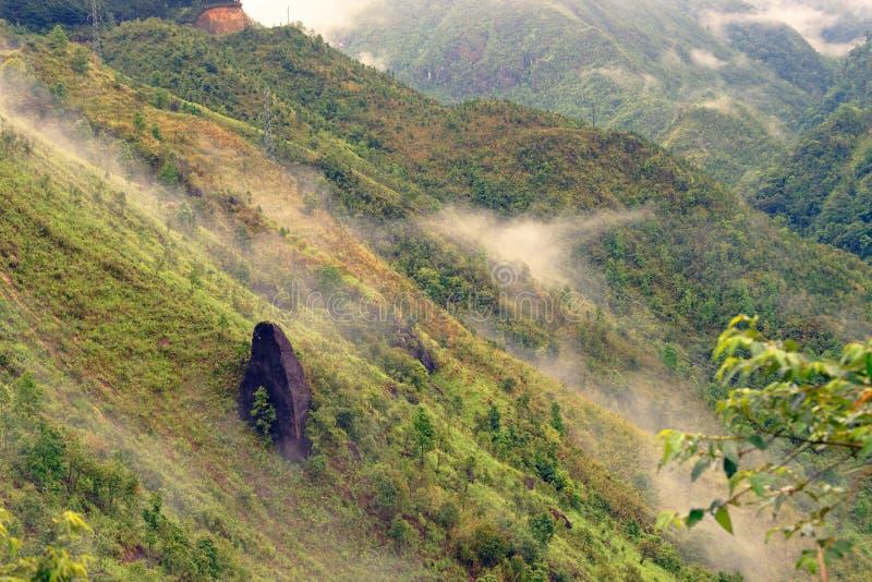De pas van de hemelpoort in Sa-Pavallei stock foto