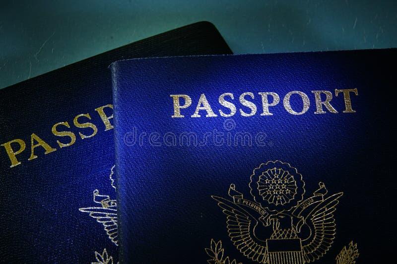 De paspoorten van de overheid royalty-vrije stock foto's