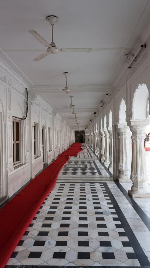 De Passage in de buurt van de Gouden Tempel stock fotografie