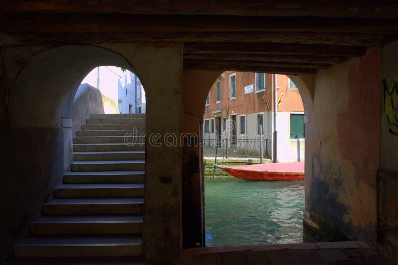 De passage van Venetië stock foto's