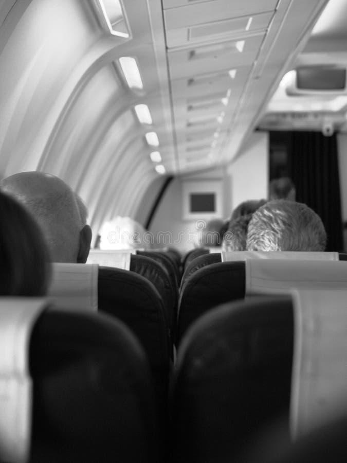 De Passagiers van de vlucht royalty-vrije stock foto's
