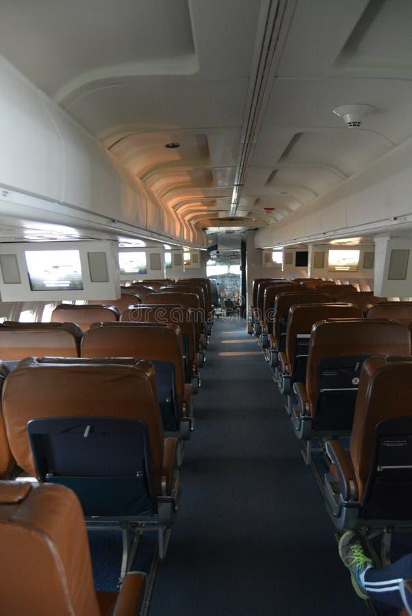 De passagierscabine van de Lucht van de V.S. stock afbeelding
