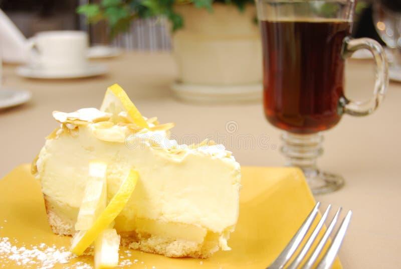 De pastei van de citroen royalty-vrije stock afbeelding
