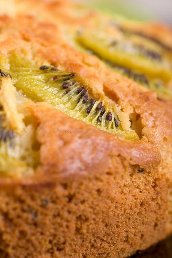 De pastei van de kiwi stock foto