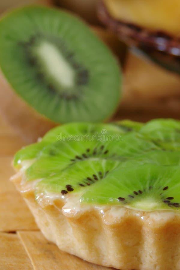 De pastei van de kiwi royalty-vrije stock foto's