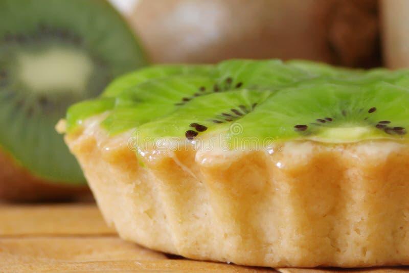 De pastei van de kiwi royalty-vrije stock foto